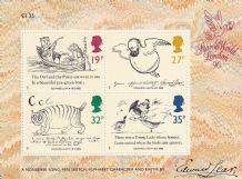 £1.13 Edward Lear Mini Sheet (20% off)